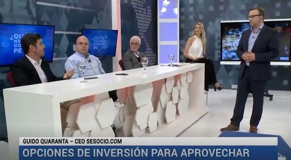"""Canal 26: SeSocio en el programa """"Qué hacemos con los pesos"""""""