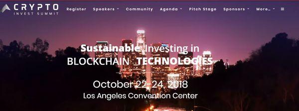 SeSocio en Los Ángeles - Crypto Invest Summit