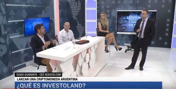 """Canal 26: Investoland en el programa """"¿Qué hacemos con los pesos?"""""""