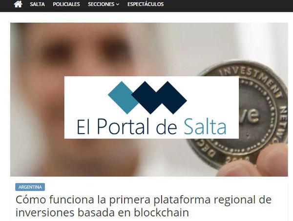 El portal de Salta: Cómo funciona la primera plataforma regional de inversiones basada en blockchain