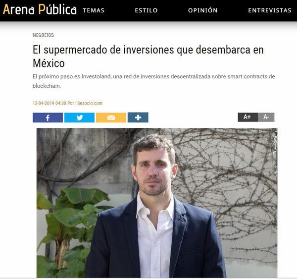 Arena Pública: El supermercado de inversiones que desembarca en México