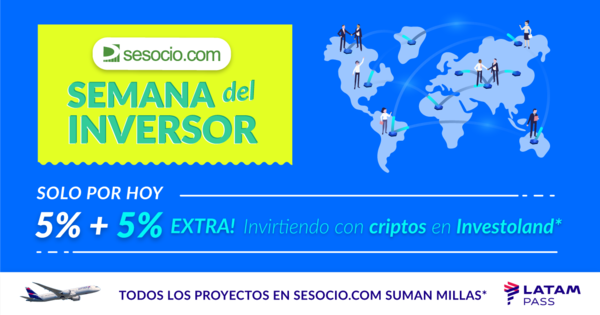 5% + 5% extra with Investoland