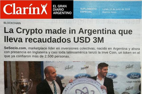 ¡SeSocio e Investoland en Clarín!