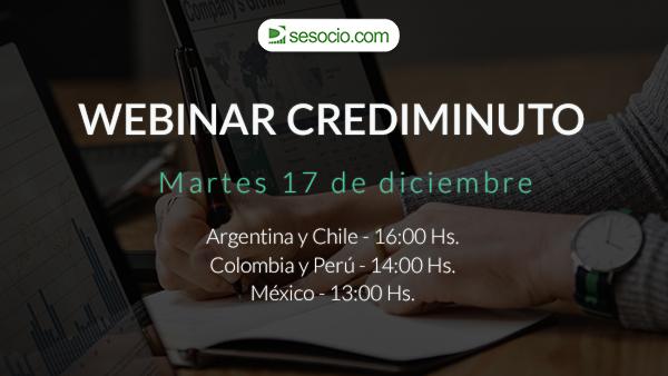Webinar CrediMinuto